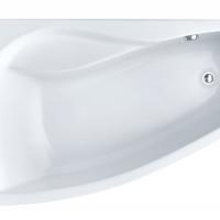 Ванна акриловая Майорка XL левая 160*95 с экраном Сантек