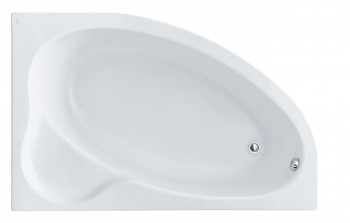 Ванна акриловая Эдера правая 170*110 с экраном Сантек