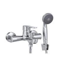 СЛ-ОД-Ф30 Смеситель для ванны с коротким литым изливом,одноручный Ф30