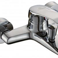 СЛ-ОД-К30 Смеситель для ванны с коротким литым изливом, перекл. кнопочный, комплект, одноручный, К30