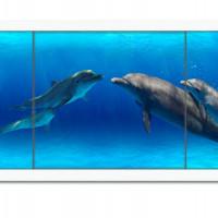 Экран п/в Ультралегкий АРТ 1,48 (Дельфины)