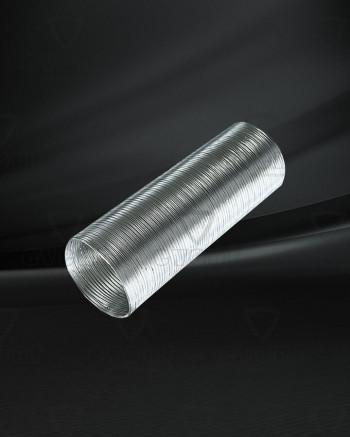 Алюминиевый гофрированный воздухоотвод, д=120, 3м